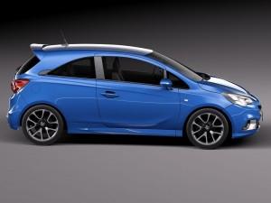 Corsa design blue