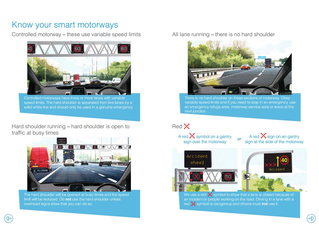 Know your motorways